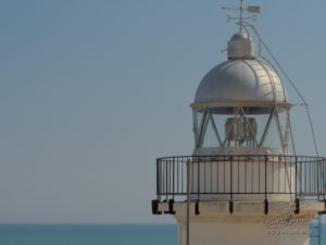 photo du phare de Peniscola