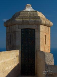 photo tour de la citadelle d'Alicante