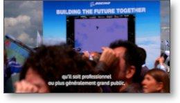 Sous titrages de reportages vidéos au salon du Bourget 2019