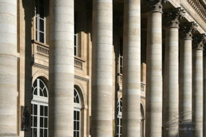 photo façade Grand théâtre de Bordeaux