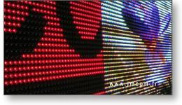Clip vidéo panneaux LED extérieur